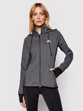 adidas adidas Technisches Sweatshirt Designed To Move Aeroready GL3964 Grau Slim Fit