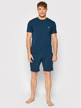 Emporio Armani Underwear Emporio Armani Underwear Piżama 111573 1A720 25234 Niebieski