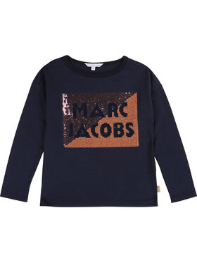 Little Marc Jacobs Little Marc Jacobs Majica W15466 S Tamnoplava Regular Fit