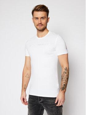 Guess Guess T-Shirt M0BI98 J1300 Bílá Slim Fit