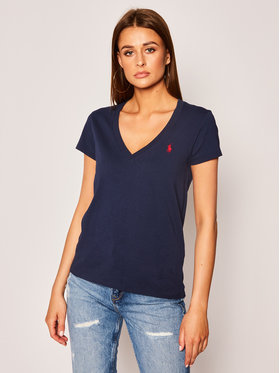 Polo Ralph Lauren Polo Ralph Lauren T-Shirt 211810419 Granatowy Regular Fit