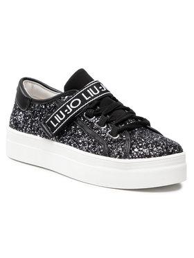 Liu Jo Liu Jo Sneakersy Alicia 26 4A1701 TX007 S Černá