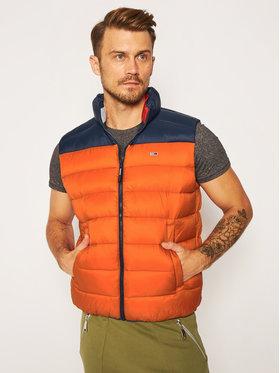 Tommy Jeans Tommy Jeans Gilet Tjm Colorblock DM0DM08430 Arancione Regular Fit