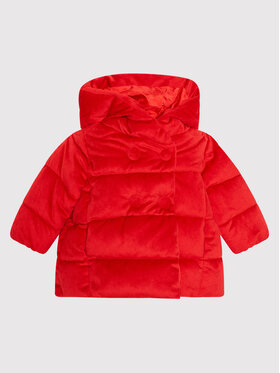 Guess Guess Kurtka puchowa A1BL01 WE900 Czerwony Regular Fit