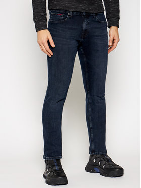 Tommy Jeans Tommy Jeans Jeansy Slim Fit Scanton DM0DM09768 Tmavomodrá Slim Fit