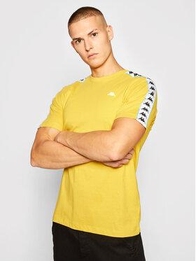 Kappa Kappa T-Shirt Hanno 308011 Gelb Regular Fit