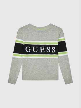 Guess Guess Pull L1YR01 Z2S40 Gris Regular Fit