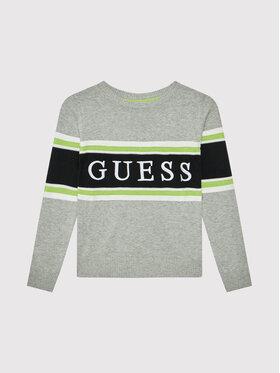 Guess Guess Пуловер L1YR01 Z2S40 Сив Regular Fit