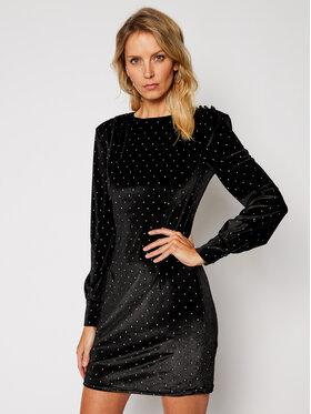 Guess Guess Koktejlové šaty Atifa W0BK84 KA3N0 Černá Slim Fit