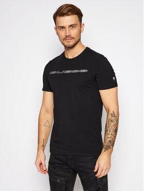 Guess Guess T-shirt M0BI98 J1300 Nero Slim Fit