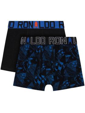 Cristiano Ronaldo CR7 Cristiano Ronaldo CR7 Lot de 2 boxers 8400-51-547 Noir