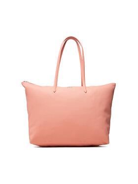 Lacoste Lacoste Torebka L Shopping Bag NF1888PO Różowy