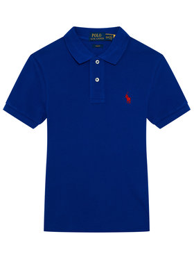 Polo Ralph Lauren Polo Ralph Lauren Polo 323547926024 Granatowy Slim Fit