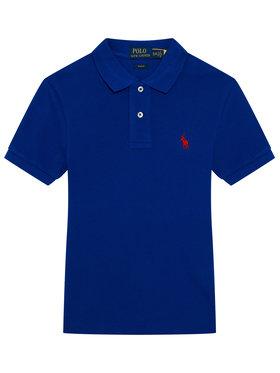Polo Ralph Lauren Polo Ralph Lauren Polo marškinėliai 323547926024 Tamsiai mėlyna Slim Fit
