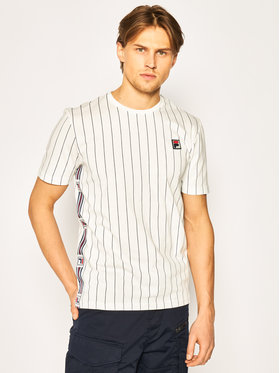 Fila Fila T-Shirt Hades Aop 687641 Biały Regular Fit