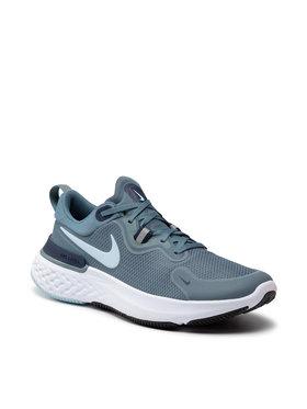 Nike Nike Boty React Miler CW1777 007 Modrá