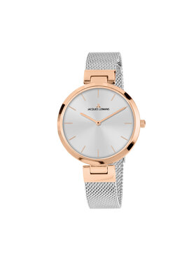 Jacques Lemans Jacques Lemans Uhr Mediolan 1-2110K Silberfarben