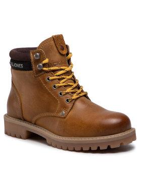 Jack&Jones Jack&Jones Turistická obuv Jrstatton 12161012 Hnědá