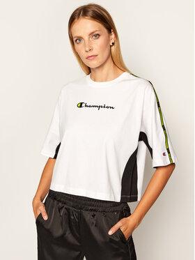 Champion Champion T-Shirt Logo 113345 Bílá Oversize