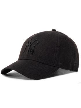 47 Brand 47 Brand Шапка с козирка Mlb New York Yankees B-MVPSP17WBP-BKB Черен