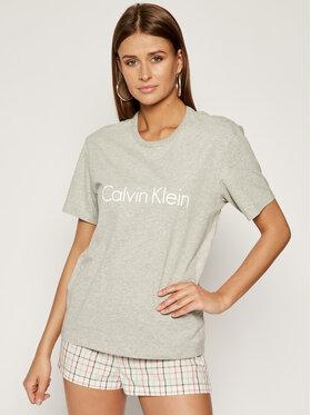 Calvin Klein Underwear Calvin Klein Underwear Tričko 000QS6105E Sivá Regular Fit