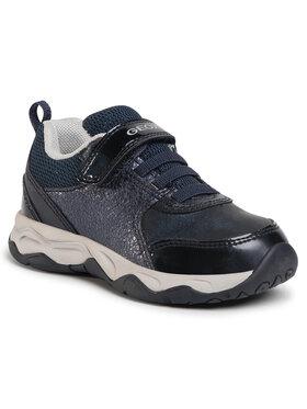 Geox Geox Laisvalaikio batai J Calco G. B J04CMB 0PVEW C4064 M Tamsiai mėlyna