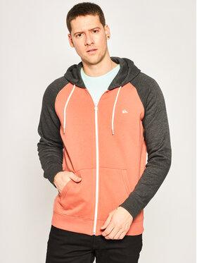 Quiksilver Quiksilver Sweatshirt Everyday Zip-Up Hoodie EQYFT04138 Orange Regular Fit