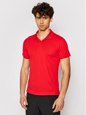 CMP CMP Polo marškinėliai 3T60077 Raudona Regular Fit