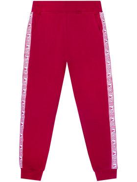 Guess Guess Spodnie dresowe J0YQ08 KA6V0 Różowy Regular Fit