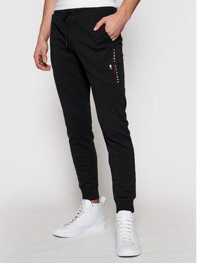 Tommy Hilfiger Tommy Hilfiger Spodnie dresowe Essential MW0MW17384 Czarny Regular Fit