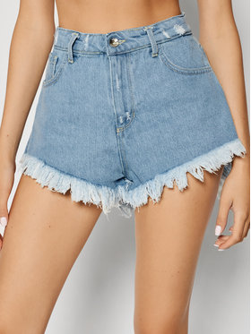 Rinascimento Rinascimento Szorty jeansowe CFC0103240003 Niebieski Regular Fit