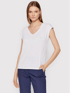 Vero Moda Vero Moda T-shirt Filli 10247666 Bianco Regular Fit