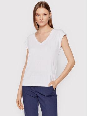 Vero Moda Vero Moda T-Shirt Filli 10247666 Bílá Regular Fit