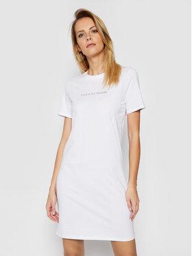 Armani Exchange Armani Exchange Každodenní šaty 3KYA96 YJG3Z 1000 Bílá Regular Fit