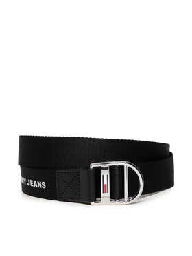Tommy Jeans Tommy Jeans Cintura da donna Tjw Webbing Belt 3.0 AW0AW10691 Nero