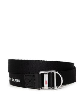Tommy Jeans Tommy Jeans Dámsky opasok Tjw Webbing Belt 3.0 AW0AW10691 Čierna