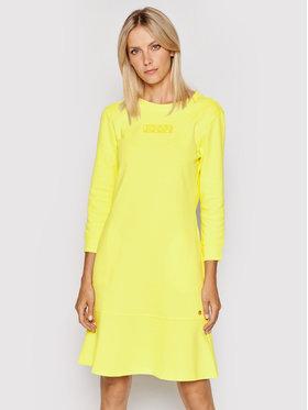 JOOP! Joop! Sukienka dzianinowa 58 Jje704 Temie 30027650 Żółty Regular Fit