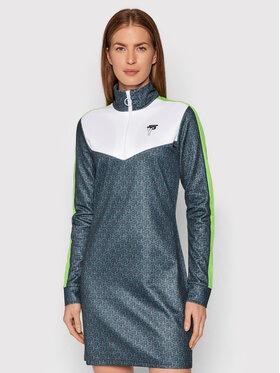 Ice Play Ice Play Kleid für den Alltag 21I U2M0 H011 P453 S5K1 Grün Regular Fit