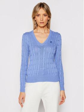 Polo Ralph Lauren Polo Ralph Lauren Sweter 211580008068 Niebieski Regular Fit