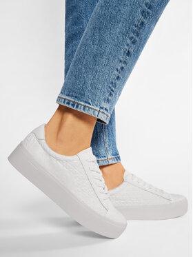 Calvin Klein Calvin Klein Laisvalaikio batai Janika B4E00422 Balta