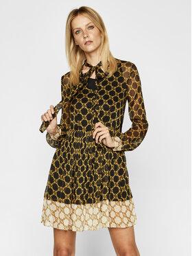 TWINSET TWINSET Φόρεμα καθημερινό 202TT221C Μαύρο Regular Fit