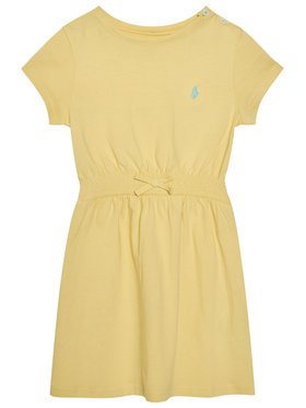 Polo Ralph Lauren Polo Ralph Lauren Každodenní šaty Play 312837203008 Žlutá Regular Fit