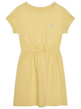 Polo Ralph Lauren Polo Ralph Lauren Sukienka codzienna Play 312837203008 Żółty Regular Fit