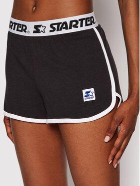 Starter Starter Szorty sportowe SDG-009-BD Czarny Regular Fit