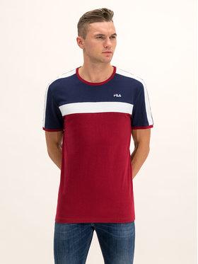 Fila Fila T-Shirt Anastas 687238 Bordó Regular Fit
