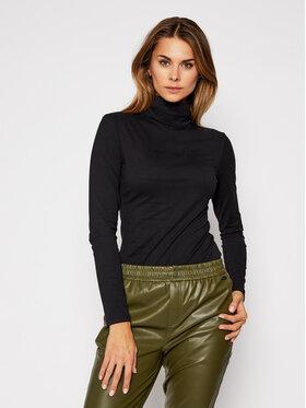 Calvin Klein Jeans Calvin Klein Jeans Bluză cu gât J20J214780 Negru Regular Fit