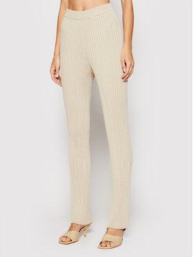 NA-KD NA-KD Pantaloni di tessuto 1018-006866-8909-003 Verde Regular Fit