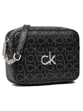 Calvin Klein Calvin Klein Дамска чанта Camera Bag Monogram K60K608324 Черен
