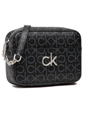 Calvin Klein Calvin Klein Torebka Camera Bag Monogram K60K608324 Czarny