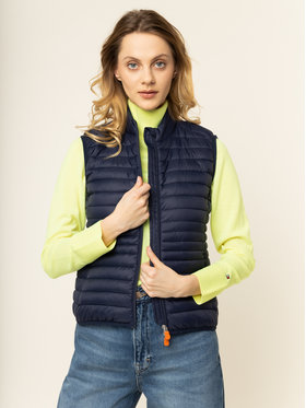 Save The Duck Save The Duck Vestă D8531W GIGAX Bleumarin Slim Fit